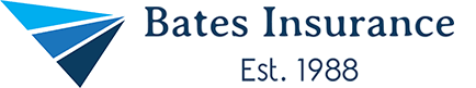 logo for bates insurance group, an independent insurance agency in eden prairie minnesota